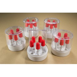 5 sets of 5 nozzles 90R in a transparent box