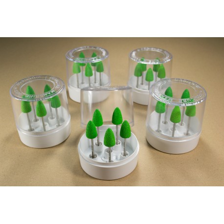 5 sets of 5 nozzles b100G in a transparent box