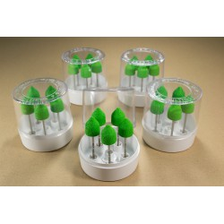 5 sets of 5 nozzles h130G in a transparent box