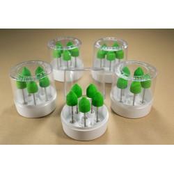 5шт. наборов 5 насадок h130G в прозрачной коробке
