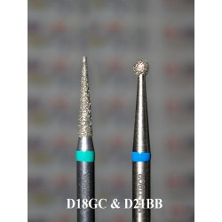 Набір з 2 алмазів D18GC і D21BB