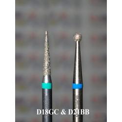 Набор из 2 алмазов D18GC и D21BB