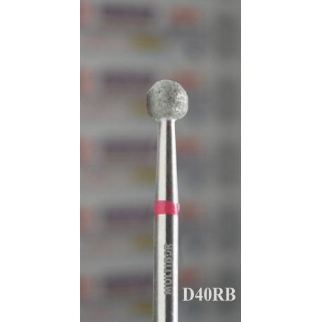 D40RB, MULTIBOR Diamond Nail Drill bit, 3/32(2.35mm), Professional Quality