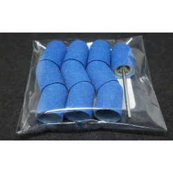 10 pcs, ∅ 13mm, 150 Grit, Fine, MULTIBOR PEDICURE SANDING CAPS