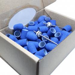 C10B, 10 pcs, ∅ 10mm, 150 Grit, MULTIBOR PEDICURE CAPS, 25.000 rpm. Professional High Quality